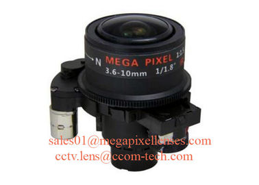 "1/1.8"" 3.6-10mm F1.5 3MP/6MP/4K(8MP) M14/CS Mount Fixed/DC Auto/P-IRIS Manual/Motorized Vari-focal Lens"