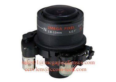 "China New 1/2.7"" 2.8-12mm F1.4 2MP/3MP D14 Mount Fixed/DC Auto/P-IRIS Manual/Motorized Vari-focal Lens factory"