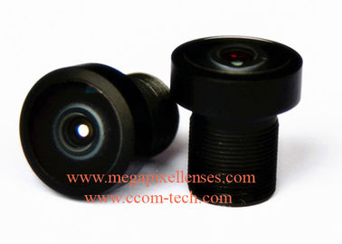 "China 1/4""~1/6"" 1.8mm F2.0 3MP M7/M8 mount 177degree wide-angle lens, M7 fisheye lens for OV9712/AS0260 factory"