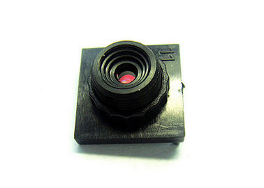 "China 1/5"" 2.6mm F2.8 Megapixel M8x0.35 non-distortion lens, 1/5"" 1/6"" 2.6mm M8 lens factory"