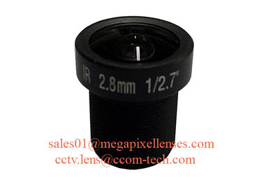 "China 1/2.7"" 2.8mm F1.2 3Megapixel M12x0.5 mount MTV IR lens for IMX322/IMX290/OV2715/AR230 factory"