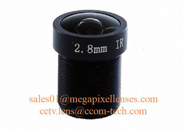 "China 1/2.7"" 2.8mm F2.0 3Megapixel M12x0.5 mount 130degree IR board lens for security camera factory"