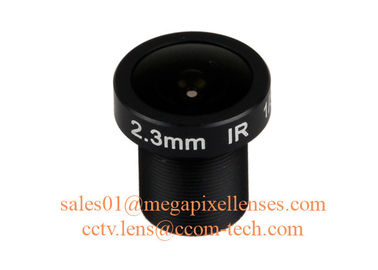 "China 1/3"" 2.3mm F2.2 3.5Megapixel M12x0.5 mount 172degree wide angle prime lens for OV4689 factory"