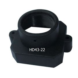 China Plastic M12x0.5 mount Lens Holder, 22mm fixed pitch holder for board lenses, height 12.9mm factory