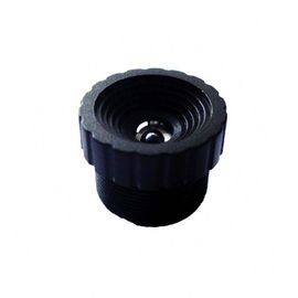 "China 1/4"" 3.1mm F2.6 Megapixel M12x0.5 mount non-distortion board lens, S mount scanner lens factory"
