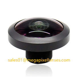 "China 1/3"" 0.86mm F2.1 Megapixel M12x0.5 mount 230degree Fisheye Lens for AR0330, Drone UAV 360VR lens factory"