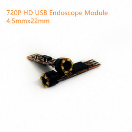 China 720P HD Megapixel USB endoscope video camera module 25fps YUV MJPG DC5V plug play driveless USB endoscope D4.5mmxL22mm factory